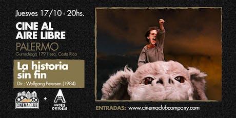 Cine al Aire Libre: LA HISTORIA SIN FIN (1984) -  Lunes 28/10 entradas