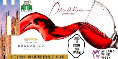 Milano Wine Week 2019 | Al Dito Divino Degustazione di vini La Cantina Buonamico