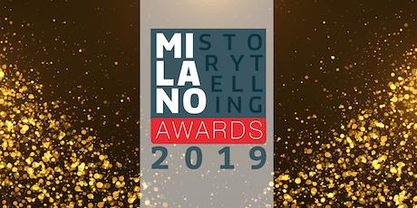 Milano Storytelling Awards - Premiazioni Finale biglietti
