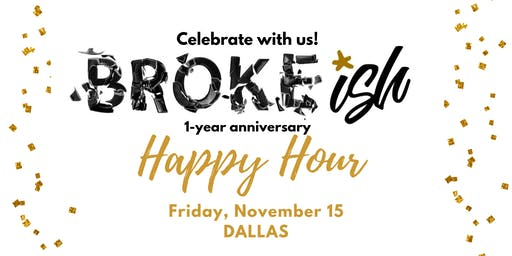 Broke-ish Anniversary Happy Hour