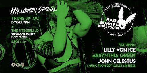 Bad Bunny Burlesque - Halloween Special