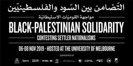 Black-Palestinian Solidarity Conference Melbourne 2019 tickets