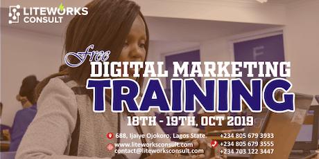 FREE Digital Marketing Training tickets