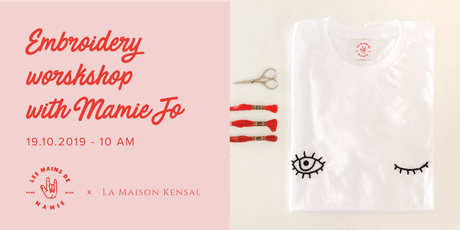 Embroidery workshop with Mamie Jo tickets