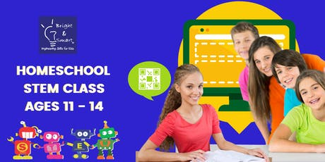 Homeschool STEM Class - Junior Coding & Robotics Q1 tickets