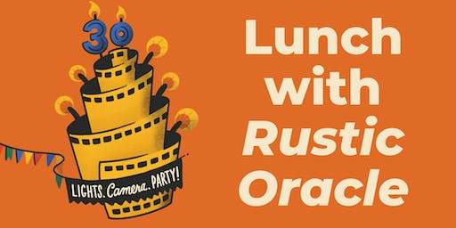 Lunch with Rustic Oracle