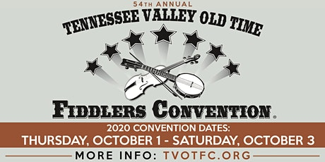 2020 Tennessee Valley Old Time Fiddlers Convention tickets