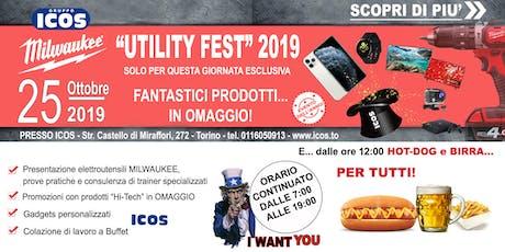 Milwaukee Utility Fest biglietti