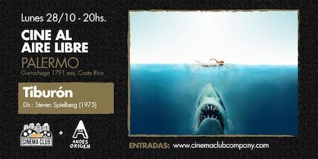 Cine al Aire Libre: TIBURON (1975) -  Lunes 28/10 entradas