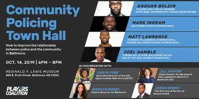 Community Policing Town Hall: Police & Community Relations in Baltimore