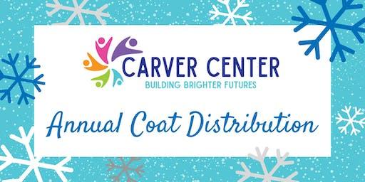 Carver Center's Winter Coat Drive