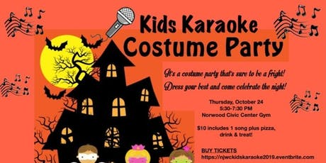 Kids Karaoke Costume Party tickets