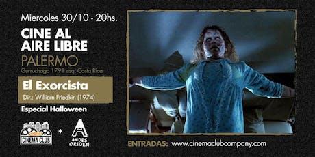 Cine al Aire Libre: EL EXORCISTA (1973) -  Miercoles 30/10 entradas