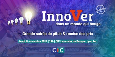"""Grande soirée de pitch du concours """"Innover dans un monde qui bouge"""" 2019 billets"""