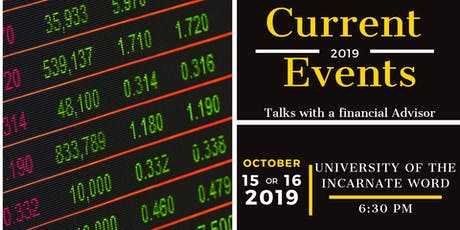 Current Economic Events tickets