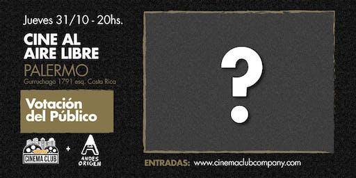 Cine al Aire Libre: VOTACION DEL PUBLICO (???) -  Jueves 31/10