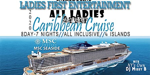 The 2nd Annual All Ladies Group Caribbean Cruise