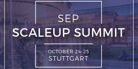 Scaleup Summit Stuttgart - The Gala Dinner Tickets