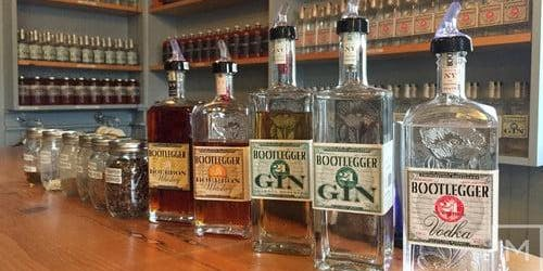 Prohibition Distillery Dinner