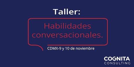 Taller de Habilidades Conversacionales entradas