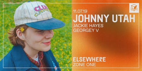 Johnny Utah @ Elsewhere (Zone One) tickets