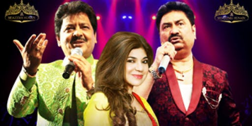 Udit Narayan,Alka Yagnik and Kumar Sanu Concert In NJ USA November 23rd
