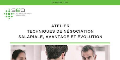Techniques de négociation salariale, avantage et évolution tickets