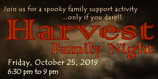 Harvest Family Night 2019