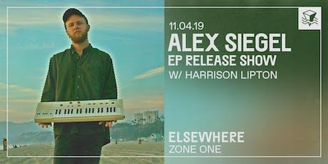 Alex Siegel (EP Release Show!) @ Elsewhere (Zone One) tickets