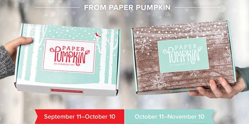 Paper Pumpkin Night December 2019