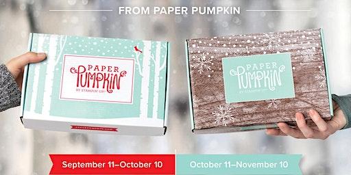 Paper Pumpkin Night December 2019 (Make Up Class)