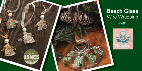 Make your own beach glass ornament and wine charms! tickets