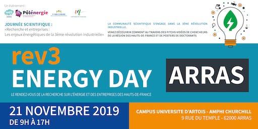 Recherche et entreprises :  les enjeux énergétiques de la Troisième révolution industrielle - Une manifestation des « rev3 energy days » et d'unirev3