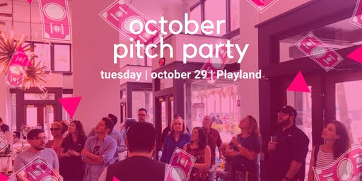 October AwesomeSA Pitch Party