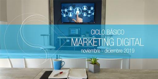 Ciclo Básico de Marketing Digital - NOV/DIC Santa Fe