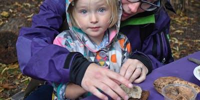 Hengrove Mounds Halloween Wild Art Family Session