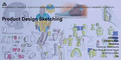 Product Design Sketching Workshop tickets