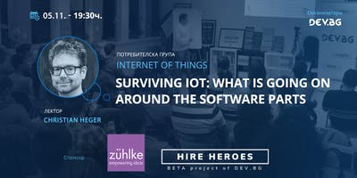 Surviving IoT: what is going on around the software parts