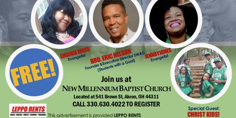 CHANGING A GENERATION YOUTH CONFERENCE tickets