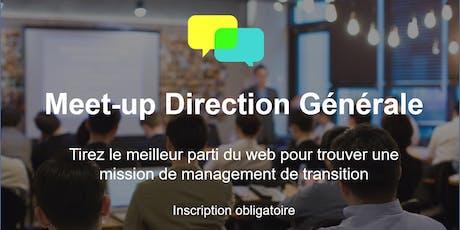 Meet-up Adequancy pour la communauté Direction Générale  - 07/11 billets