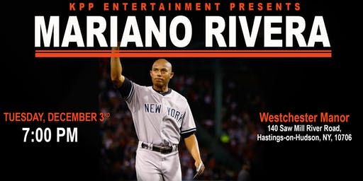 "MARIANO RIVERA ""UNANIMOUS HOF 19"" MEET & GREET - Q&A - AT WESTCHESTER MANOR"