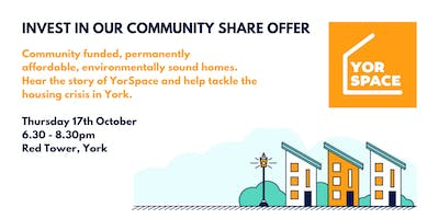 YorSpace Community Share Offer event