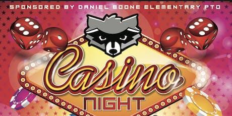 DBE PTO Casino Night tickets