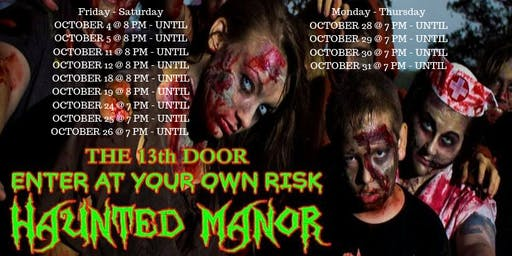 13th Door Haunted Manor