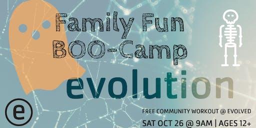 Family Fun BOO-Camp   OCT Evolution