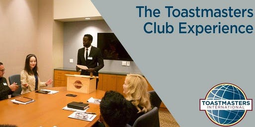 MCNY Office of Career Development and Toastmasters International Open House