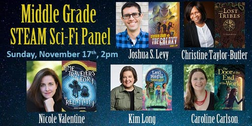 Middle Grade STEAM Sci-Fi Panel