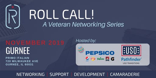 Roll Call! A Veteran Networking Event in Gurnee