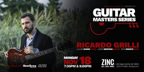 Guitar Masters Series: Ricardo Grilli tickets