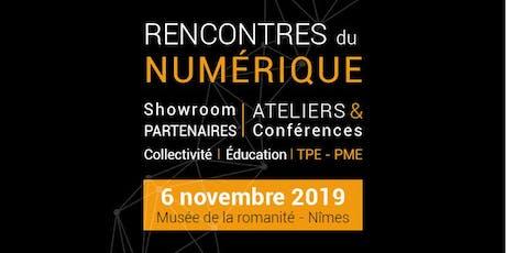 Rencontres Du Numérique 2019 billets